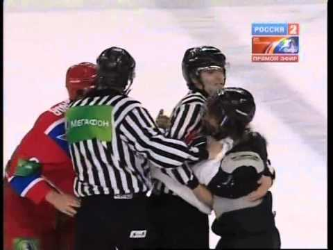 Драка Красная Армия (Россия) vs EJHL (США) - Fights Red Army (Russia) vs EJHL (USA) Brawl