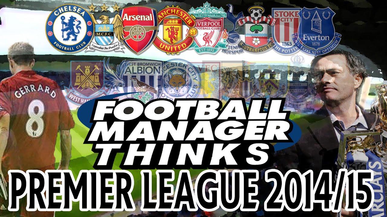 Premier League Managers 2014 Premier League 2014/15