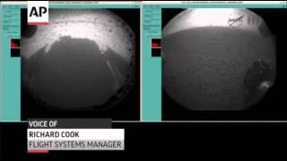 NASA Scientists: Mars Landing 'Beautiful'