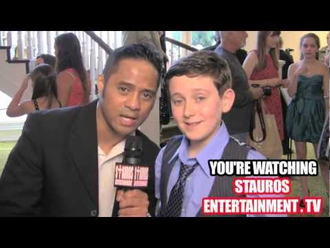 REGAN MIZRAHI w/ TYRONE TANN- (33rd ANNUAL YOUNG ARTIST AWARDS)