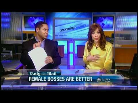 WNN news woman in silk blouse.mp4
