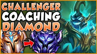 CHALLENGER JUNGLER SHOWS A DIAMOND JUNGLER WHAT HE'S MISSING AS A PLAYER - League of Legends
