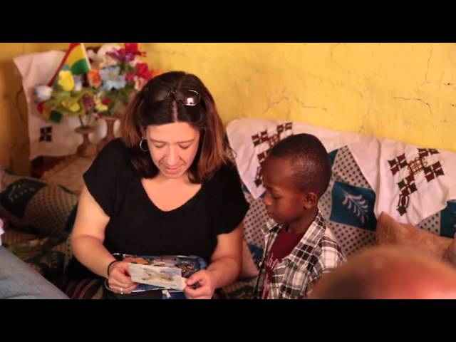 Compassion International Home Visit: Gifts