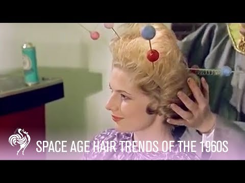 Space Age Hair Fashions