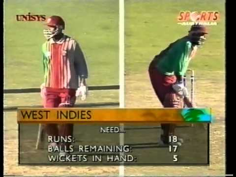 Brian Lara 90 vs Australia CUB series 1996/97 WACA