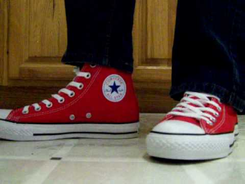 how to wear high top converse guys