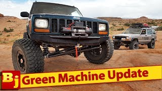 Custom Jeep Cherokee XJ - Project Green Machine Update and Walkaround