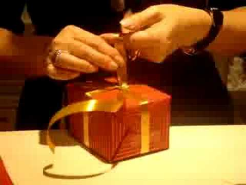 Swiss gift packing