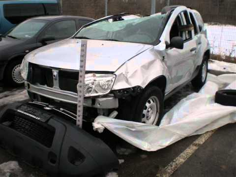 dacia duster crash test problems air bag youtube. Black Bedroom Furniture Sets. Home Design Ideas