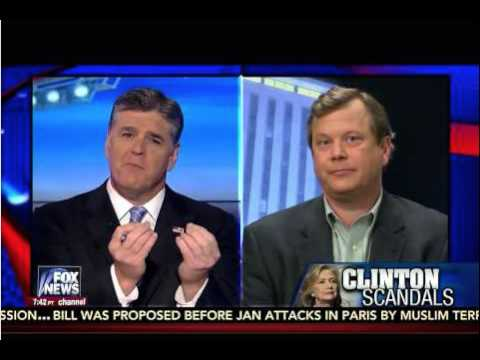 Peter Schweizer Tells Sean Hannity the Questions the Media Should Ask Hillary Clinton