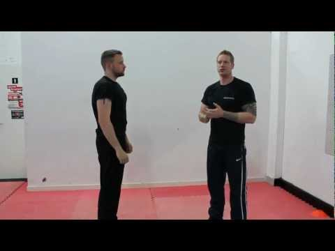 Krav Maga Techniques - Defence Against Clothing Grabs and Head Butts Image 1
