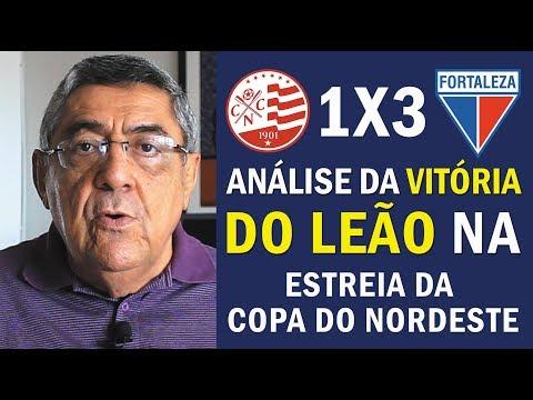 Náutico 1 x 3 Fortaleza: Wilton Bezerra analisa estreia do Leão na Copa do Nordeste