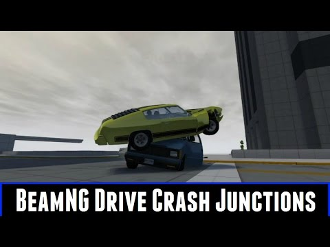 BeamNG Drive Crash Junctions