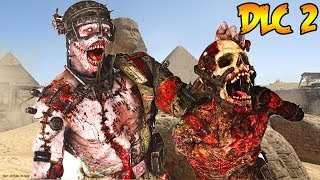 WW2 DLC 2 - THE SHADOWED THRONE GAMEPLAY TRAILER REACTION! (Call of Duty WW2 Zombies)