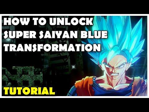 Dragon Ball Xenoverse 2 - How To Unlock Super Saiyan Blue Transformation