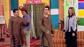 Zafri Khan, Nargis and Nasir Chinyoti New Pakistani Stage Drama Full Comedy Funny Clip