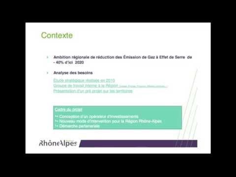 OSER: société publique locale pour l'efficacité énergétique en Rhône-Alpes