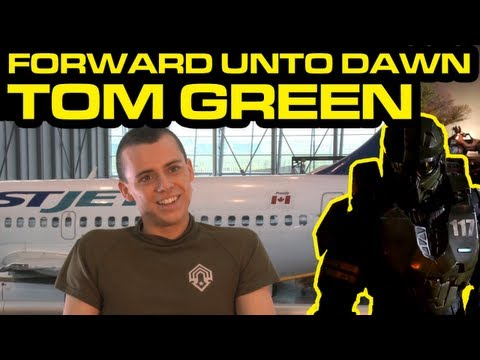 Halo 4 News - Halo 4: Forward Unto Dawn - Tom Green (Thomas Lasky) Interview
