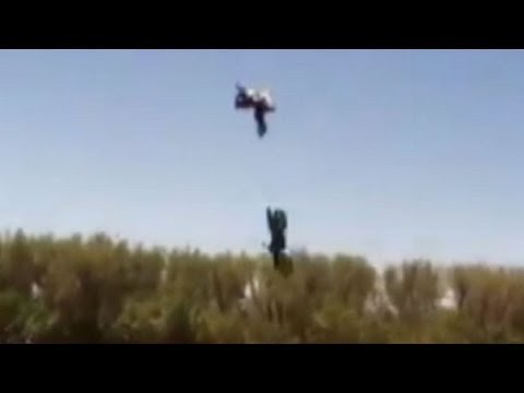 Stuntman s Big Jump Goes Horribly Wrong: Caught on Tape