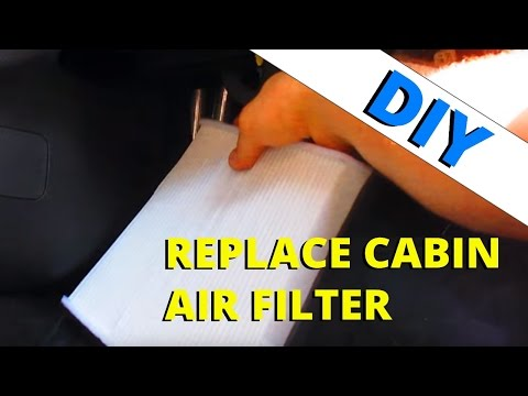 Cabin Air Filter Change- 2013-16 Ford Escapes: HOW TO ESCAPE