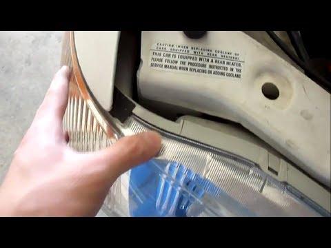How to Change Honda Odyssey Brake Lights and Headlights (1999-2004)