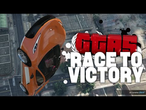 DE LANGSTE RAMP OOIT! (GTA V RACE TO VICTORY #10)