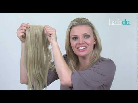 HOW TO: Wrap Around Pony Synthetic Hairpiece by hairdo
