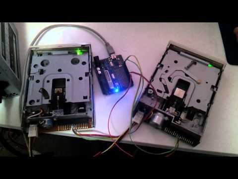 Some things tech: Arduino Floppy Music!