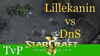 Lillekanin vs DnS (TvP) - WCS Valencia - Starcraft 2: LotV Profi Replays [Deutsch | German]
