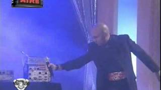 Showmatch 2009 - Freddy interpreta a Mr. Electro""""