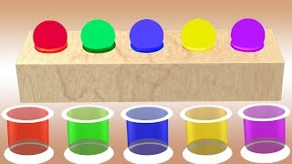 Learn Ball Colors For Kids || Colors Video For Children || Nursery Rhymes Collection