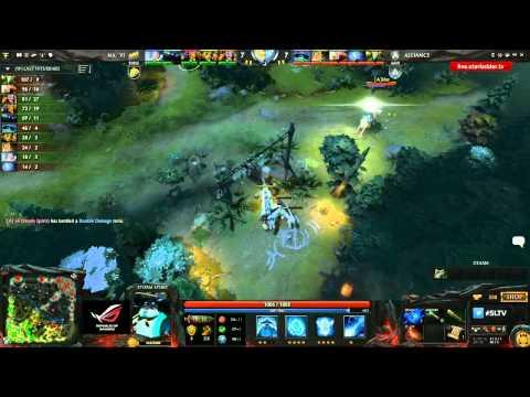 Na`Vi vs Alliance, SLTV LAN Finals, Grand Final, game 4