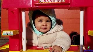 Ronald McDonald in the McDonald Drive through || Jai BIsta Show