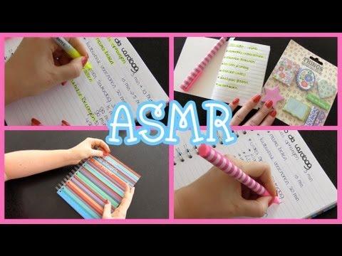 *ASMR* to-do lists (whisper)