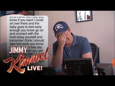 Kimmel Staffers Read Texts From Their Moms