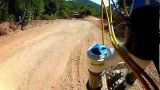 GoPro Hero 2 test #1 Orbea Rallon R3, Fox Float