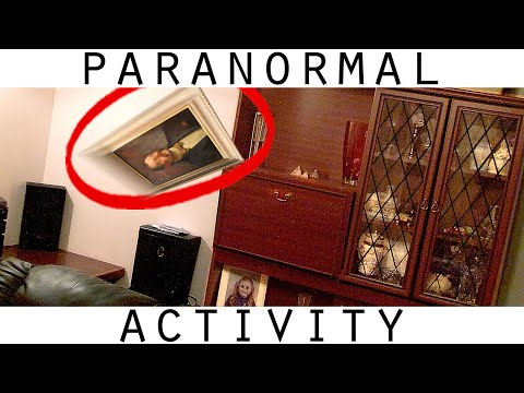 Real Poltergeist Caught On Video. Poltergeist Activity In My House.