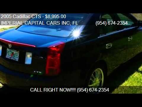 2005 Cadillac CTS Base 4dr Sedan for sale in Hollywood, FL 3