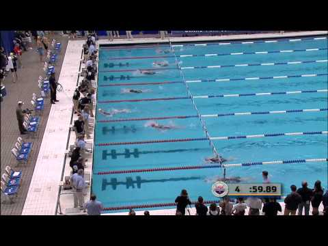 Women&#039;s 100m Backstroke A Final.TS