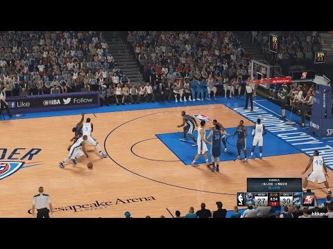 NBA 2K15 Memphis Grizzlies Vs Oklahoma City Thunder 07-11-2014