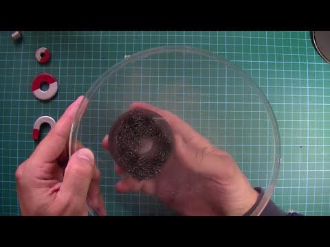 Imanes y su campo magnético