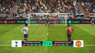 Tottenham vs Manchester United | Penalty Shootout | PES 2019 Gameplay PC