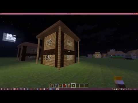 Как сделать быстро дом в minecraft 152