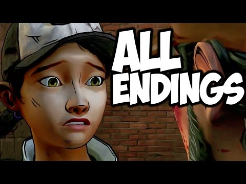 The Walking Dead: Season 2 — All Endings — ALL OUT OF TEARS. .