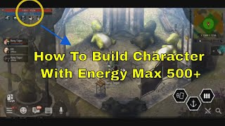 DURANGO WILD LANDS  HOW TO BUILD CHAR MAX ENERGY 500+