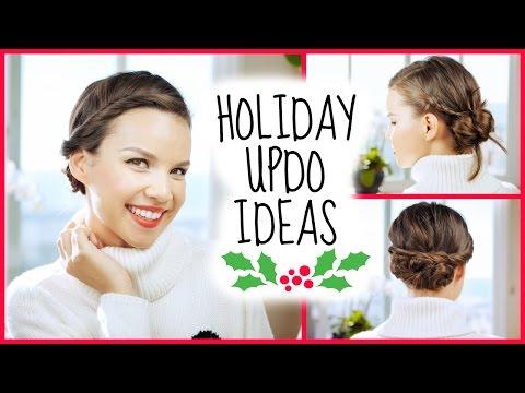 Easy Holiday Updo Ideas!
