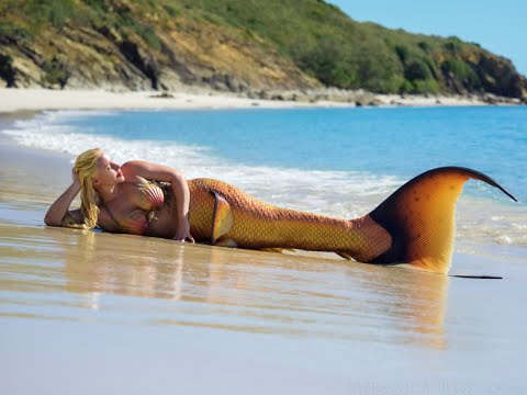 Real Life Mermaid Melissa footage at Great Keppel Island Queensland Australia!