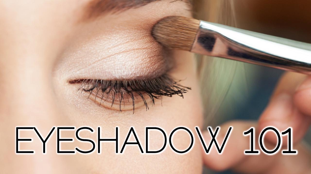 Советы по нанесению макияжа для глаз