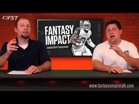 Latest Fantasy Advice On Ezekiel Elliott Suspension 2017 Fantasy Football