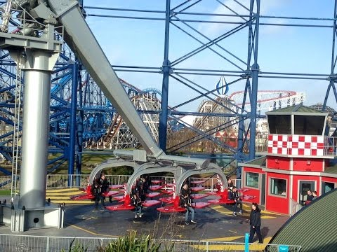 Blackpool Pleasure Beach Vlog February 2016